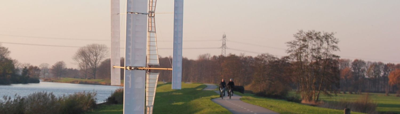 Innovatief rijden op windkracht
